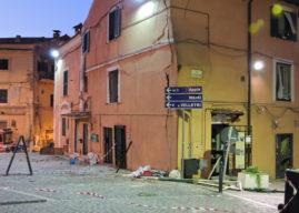 Genzano, esplosione: ancora grave Abbatini, traffico bloccato nel centro