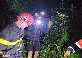 Castelgandolfo, escursionista cade in un dirupo, recuperata alle 3 di notte