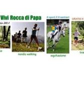 """Rocca di Papa, domenica 4 maggio torna l'evento """"4 sport per 4 sentieri"""""""