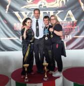 Finale dei campionati nazionali Wtka-WKA, ottimi piazzamenti per gli atleti del maestro Tommaso D'Adamo