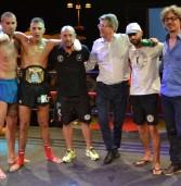 Genzano, grande successo e titolo italiano ad Alessandro Disnan per il Gran Galà di Kick Boxing