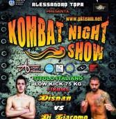 """Genzano, tutto pronto per l'ottava edizione del Gran Galà di Kick Boxing  """"Kombat Night Show"""""""