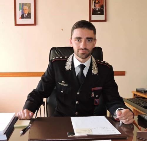 il capitano Emanuele Tamorri