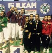Medaglia d'oro per Noemi Nicosanti al campionato italiano a squadre di karate