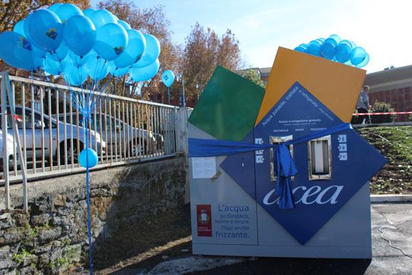 Grottaferrata inaugurata in parco san nilo la prima casa - Depurare l acqua di casa ...