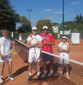 Tc New Country Club (tennis), torneo delle Racchette di legno a Mastrogiacomo e a Falanga-Pitone