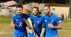Lirfl (rugby a 13), Ligi e Batini vincono in campo con l'Italia e fuori con la raccolta fondi per Cascia e Norcia