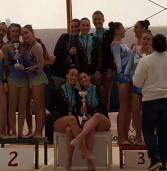 San Nilo Grottaferrata, la ginnastica ritmica vince il campionato regionale nei cinque cerchi