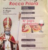 Rocca Priora, al via i festeggiamenti per San Biagio e la Sagra della Polenta