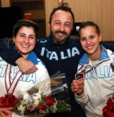 Frascati Scherma: Vecchi terza in Cdm, Chignoli sul podio ai Campionati del Mediterraneo