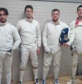 Frascati Scherma: la squadra di spada promossa in serie A2, iniziati i campionati europei giovanili