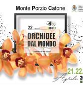 Week end all'insegna della bellezza a Monte Porzio: Orchidee dal mondo in scena