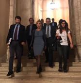 Una delegazione del Comune di Nemi incontra il Ministro Dario Franceschini