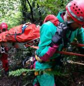 Castelgandolfo, cade in un dirupo del lago. Salvato dai Vigili del Fuoco