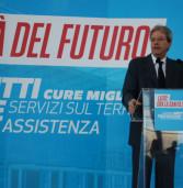 Ariccia, Gentiloni e Zingaretti in visita al nuovo ospedale dei Castelli
