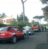 Esplosione in una villetta a Nemi, intossicato un 30enne