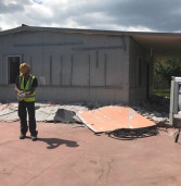 Demolita la prima casa abusiva ad Artena, su decreto del Tribunale di Velletri
