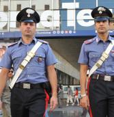 Carabinieri arrestano falsi poliziotti-rapinatori di turisti