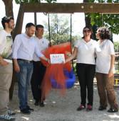 Monte Porzio, la Tartaruga Onlus inaugura un nuovo gioco inclusivo per piccoli disabili