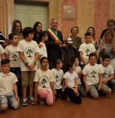 Anzio, premiata la classe IV A della scuola Gianni Rodari, prima classificata nella votazione al Giffoni Film Festival.