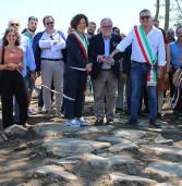 A Valmontone riportato alla luce un tratto dell'antica via Labicana