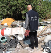 Sequestrata una discarica abusiva a Genzano