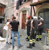 Genzano, evacuate 8 famiglie dopo il crollo di un solaio