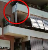 Ladro tenta di scappare dal balcone ma precipita. Ricoverato in gravi condizioni