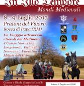 Castelli Romani: rievocazione medioevale al Vivaro nei giorni 8 e 9 luglio