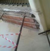 Albano, cede solaio di una palazzina, evacuate 4 famiglie
