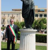 Il network giapponese NHK, ad Anzio, per il documentario sull'unico monumento di Nerone al mondo