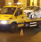 Albano, incidente nella notte in pieno centro