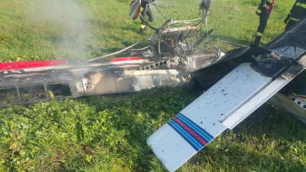 Pomezia, precipita aereo ultraleggero: morto il pilota