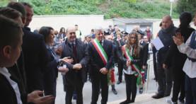 """Colonna, inaugurata la scuola """"Tiberio Gulluni"""" dal presidente Zingaretti"""