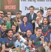 Lirfl (rugby a 13), l'Italia supera il Pakistan. Il man of the match Tornese: «Emozione unica»