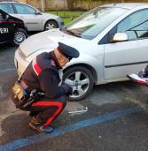 Valmontone, beccati a rubare le ruote alle auto in sosta al parcheggio della stazione