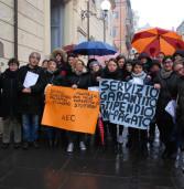 Genzano, protesta delle operatrici delle scuole