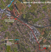 Iniziati ieri i lavori per il nuovo acquedotto di Frascati