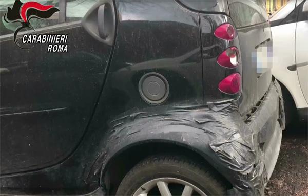 Roma, finti incidenti stradali: arrestati medici e avvocati