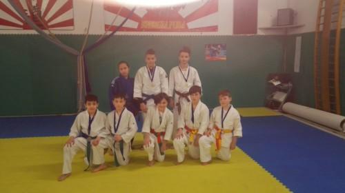 judo-frascati-alcuni-degli-atleti-che-hanno-gareggiato-a-fiano