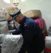Roma Tor Vergata, trovati 75 pacchi con più di una tonnellata di marijuana