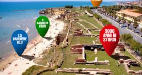Anzio conferma la terza Bandiera Verde per le spiagge a misura di bambino